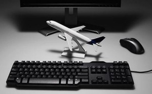 booking air travel online