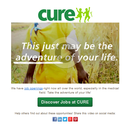 CURE jobs